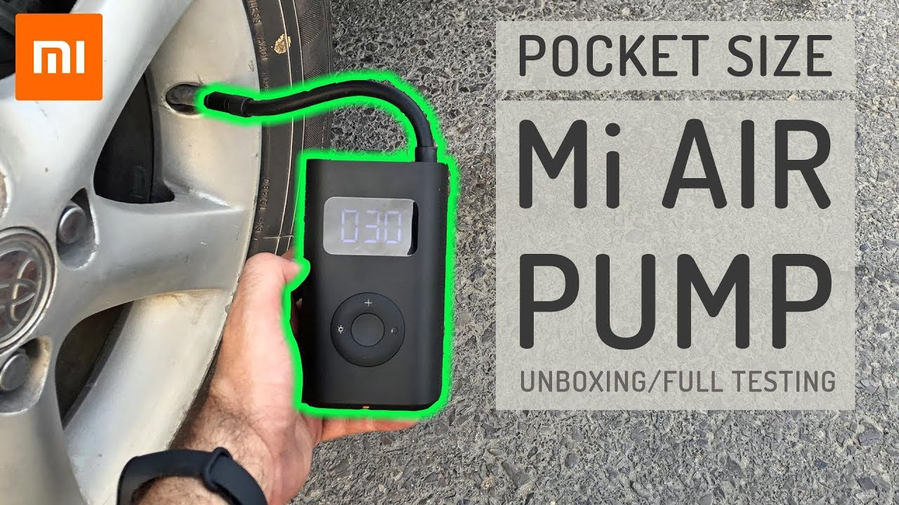 Xiaomi Air pump - Tested on everything that inflates - All