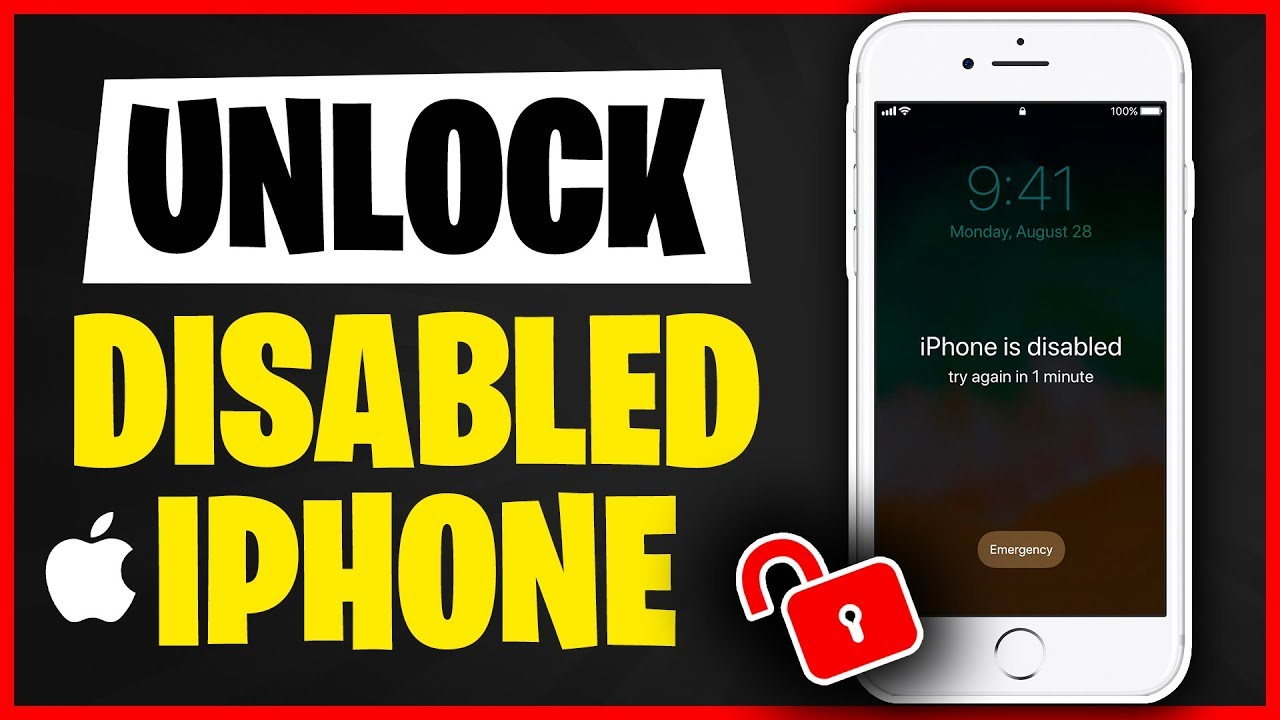 New 3 Ways to Unlock iPhone without Passcode   How to Unlock a Disabled iPhone - All Tech News