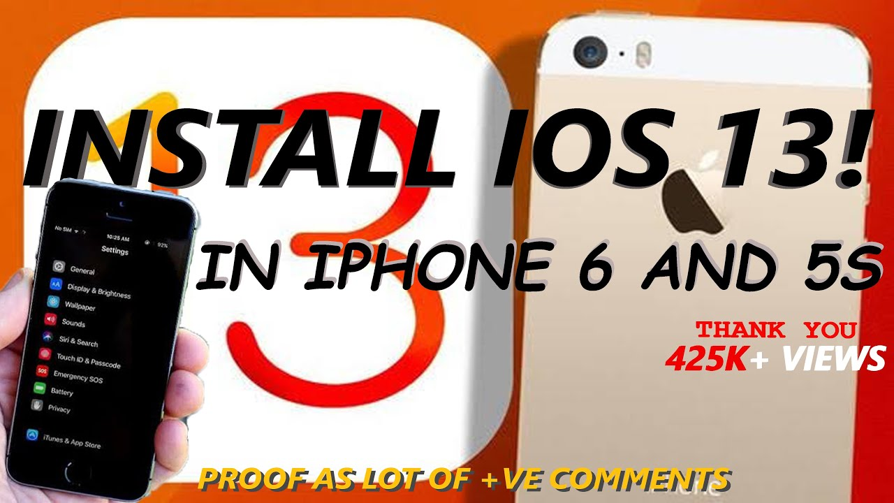 How to get ios 13 on iphone 6? - All Tech News