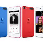 iPod touch and iPod