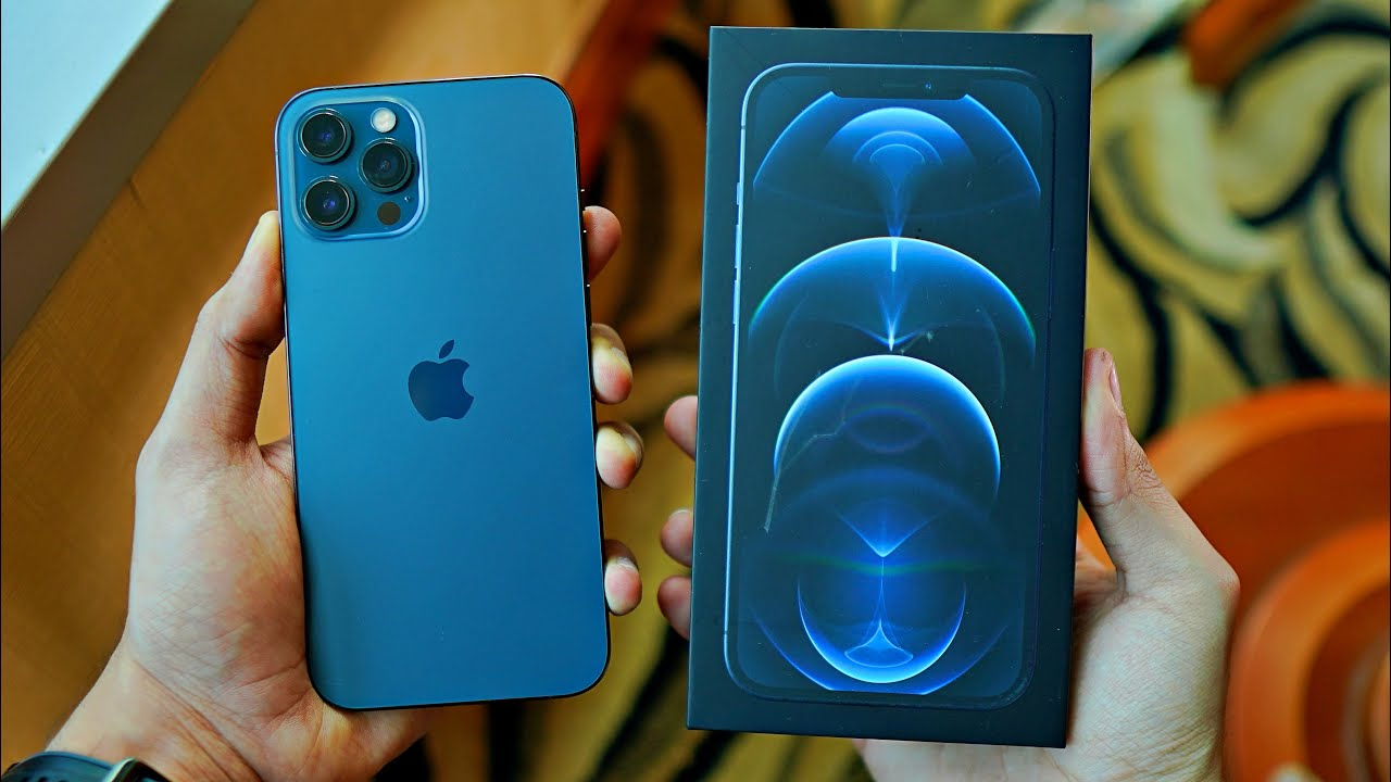 iPhone 12 Pro Max BLUE Unboxing! vs iPhone 11 Pro Max ...