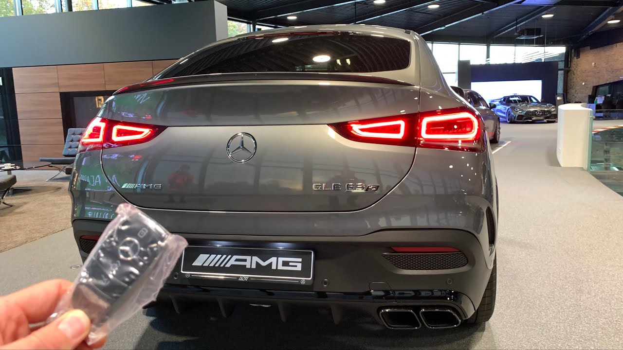 New! 2021 Mercedes GLE 63 S Coupe AMG   SOUND, Startup and ...
