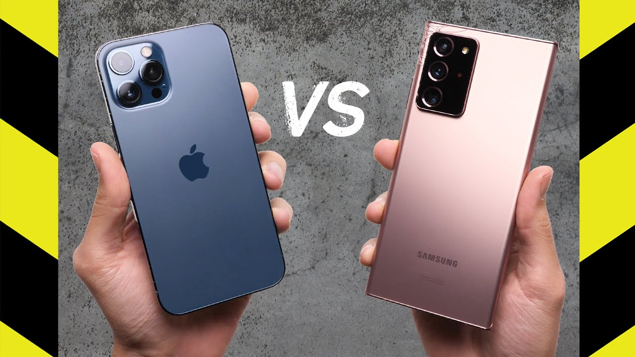 iPhone 12 Pro Max vs Note 20 Ultra