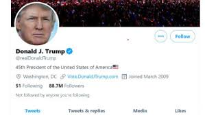 Donald Trump's Twitter account has been suspended